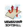 Konstrukce Membrain® Softshell